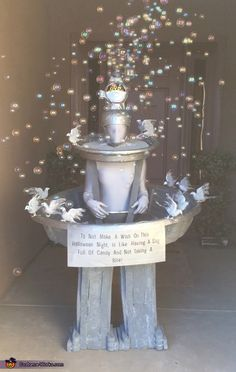 Water Fountain Costume