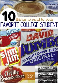 10 Things You Should Send To Your College Student