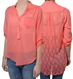 Penelope Lace Back High Low Blouse