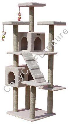 Cat Gym Climbing with Cat Condos