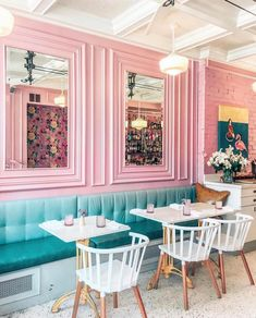 Cafe CanCan - This spot is definitely Toronto's favourite pastel restaurant. They're a French bistro serving up some really delicious, up-scale brunch.