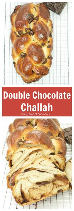 This incredible double Chocolate Challah recipe is a cross between a babka and a challah. Perfect for breakfast and brunch or ideal for french toast. More homemade bread recipes at livingsweetmoments.com  via @Livingsmoments