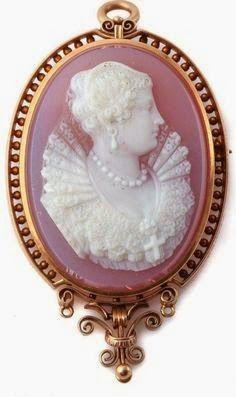 Victorian cameo