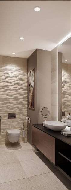 serene bathroom is unconditionally important for your home. Whether you pick the remodel a bathroom or remodeling bathroom ideas, you will create the best diy bathroom remodel ideas for your own life. Modern Small Bathrooms, Modern Bathroom Design, Bathroom Interior Design, Amazing Bathrooms, Bathroom Small, Bathroom Designs, Modern Design, Serene Bathroom, Beige Bathroom