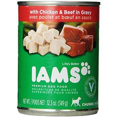 IAMS PROACTIVE HEALTH Adult Chunks With Chicken & Beef in Gravy Wet Dog Food 12.3 oz. (Pack of 12) @ You can find out more about the great product at the image link. (This is an affiliate link and I receive a commission for the sales)