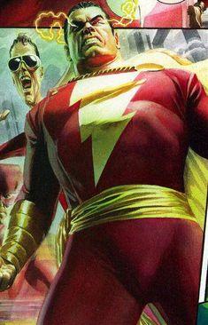 Captain Marvel Shazam By Alex Ross