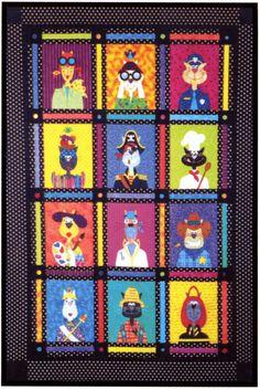 Amy Bradley Designs Kitty City quilt pattern