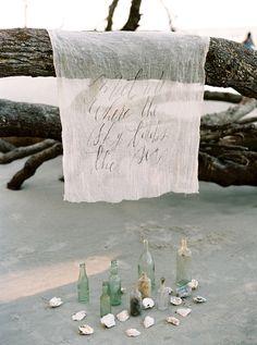 Enchanting Coastal Wedding Inspiration on Hunting Island : Bajan Wed