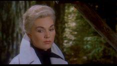 White hair & jacket: Kim in Vertigo.