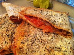 Low Carb: Low Carb Pizza Pockets...killed my cravings!