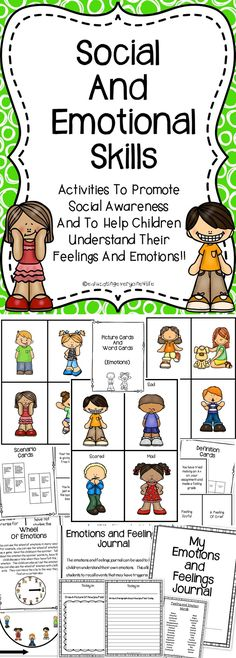 Social and Emotional Skills - This social skills resource is filled with engaging activities to use with kids. Click here to view this Social and Emotional Skills resource book.