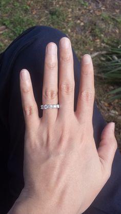 Please show me your 5 stone or 7 stone wedding bands - Weddingbee