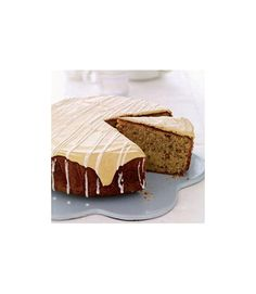 A hot mug of coffee or tea pairs perfectly with this rich coffee cake loaded with toasted pecans and topped with smooth coffee-flavored frosting and a sugary drizzle. Get the recipe.  - WomansDay.com
