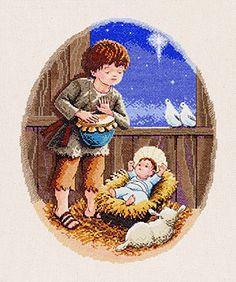 Little Drummer Boy Cross Stitch Kit by Janlynn