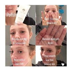 NU skin polishing peel please message me if you are interested in this product