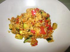 Wir sagen: gute Besserung, Frau Schulz! Mit dieser Couscous-Gemüsepfanne bist du sicher bald wieder fit!   http://frauschulzwirdvegan.blogspot.de/2012/11/vegan-wednesday-4-spooky-without-meat.html