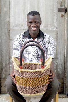 Nyariga Basket (Medium) by Attiah Ayinebono
