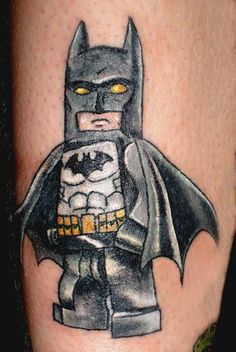 Lego batman tattoo hey Sarah how abt matching tattoos