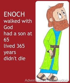Enoch walked with God  or why do I care about Noah's family tree