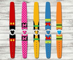 Character Waterproof Disney Magic Band Skin or Decal | RTS Ready To Ship Disney Sticker for Magic Bands | Mickey Minnie Donald Pluto…