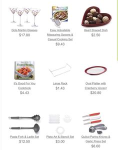 Outlet specials on discontinued products. Order yours before they are gone. www.pamperedchef.biz/KarinsKorner