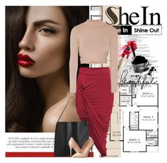 """""""Shein4/10"""" by elmaimsirovic ❤ liked on Polyvore featuring Paul Frank, Jonathan Simkhai and Madden Girl"""