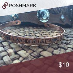 New Wonderlust Bracelet Cute Bracelet With Wonderlust Quote Jewelry Bracelets
