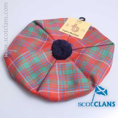 Grant Ancient Tartan Tam from ScotClans