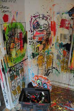 Workplace Baba, Workplace, Galleries, Street Art, Studios, Interiors, Illustration, Artist, Painting