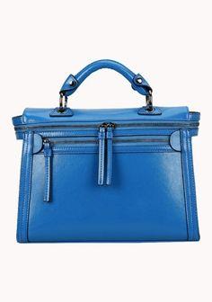 Brittney Vintage Cross Body Bag - Blue