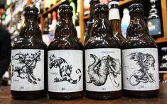 Beverage Packaging, Beer Label, Beer Lovers, Craft Beer, Brewery, Beer Bottle, Branding Design, Recherche Google, Bottles