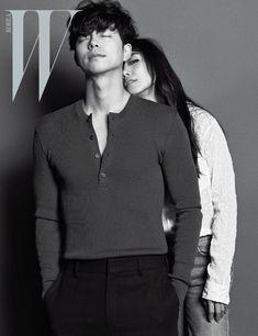 Gong Yoo, Asian Actors, Korean Actors, Dylan Sprouse Girlfriend, W Korea, South Korea, Model Poses Photography, Korean Couple, Couple Posing