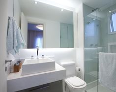 Banheiro pequeno #assimeugosto #banheiro