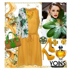 """""""YOINS"""" by irinavsl ❤ liked on Polyvore featuring Michael Antonio, Kate Spade, Guerlain and yoins"""