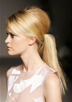 Try the Ponytail Hairstyles for this summer   One Hairstyles