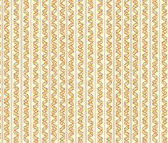DNA Stripes fabric by nicholeann on Spoonflower - custom fabric    Miss Frizzle chevrons!