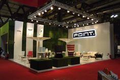Point ocupa el stand E28 del pabellón 6 en el Salone Internazionale del Mobile 2013.
