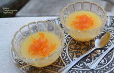 Νηστίσιμη κρέμα πορτοκαλιού ή λεμονιού - cretangastronomy.gr