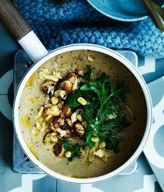 Hungarian paprika-spiced cauliflower soup recipe | Karfiolleves recipe :: Gourmet Traveller