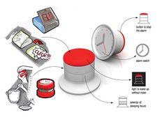 Hybrid Alarm Clock by Francesco Costacurta » Yanko Design