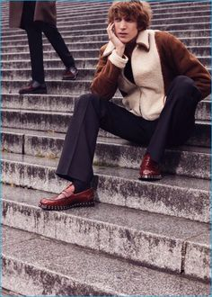 Xavier Buestel & Florent Strambio Deliver Chic Editorial for GQ France