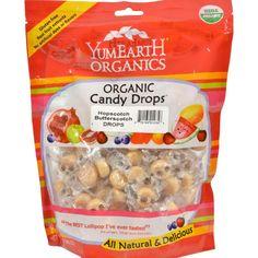 Yummy Earth Organic Hopscotch Butterscotch Drops - 13 Oz