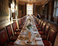 Dinner in the Great Chamber events@suttonshospital.co.uk