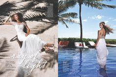 Inside the New Issue of Bridal Guide features the stunning Zoetry Paraiso de la Bonita!
