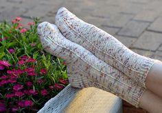 Ravelry: Secret Garden Socks pattern by Jo-Anne Klim