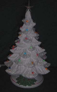 81 Best Ceramic Christmas Trees Images In 2019 Ceramic Christmas