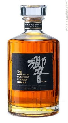 Suntory Hibiki 17 Year Old Japanese Whisky Cigars And Whiskey, Bourbon Whiskey, Bourbon Cocktails, Scotch Whisky, Whisky Regal, Whisky Single Malt, Suntory Whisky, Blended Whisky, Root Beer