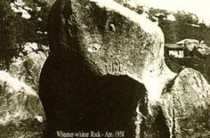 Read the legend of the The Nahachish Rock in southern Temecula