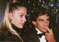 Ayrton Senna Magic Immortal: Adriane Galisteu ganhou €400,000 e um BMW, graças a morte de Ayrton Senna