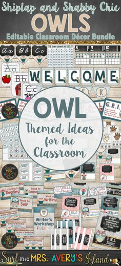 This OWL THEMED CLAS
